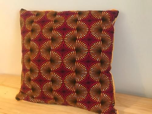 Spiral Maua (Pink) 18x18in
