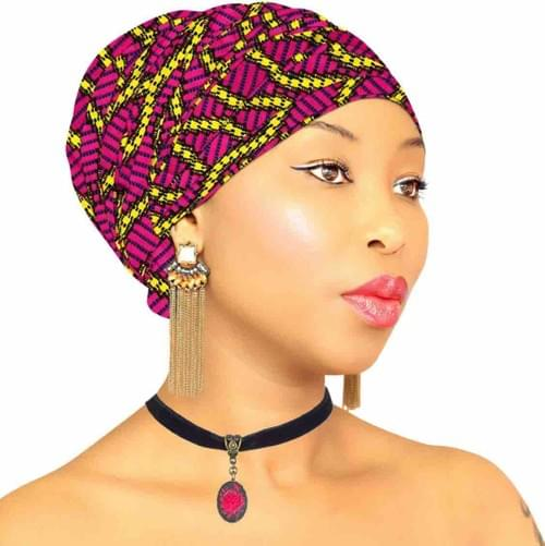African Headwraps - Pretty in Pink