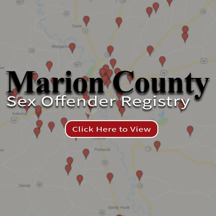 Sex Offender Registry - Marion County Sheriff's Office