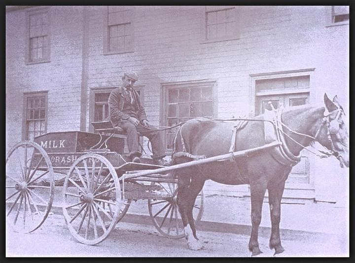 Woodlawn Milk - historical photo