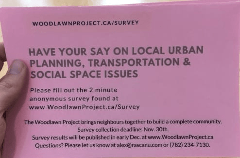 Woodlawn community survey