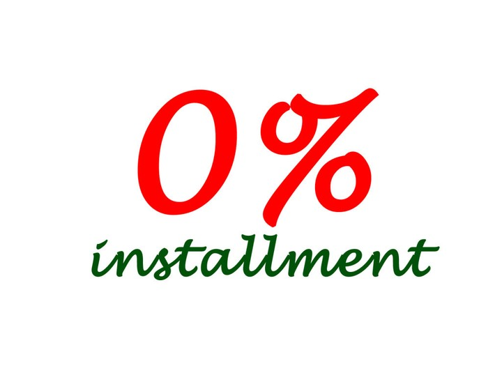 0% Installment Payment for your next vacation