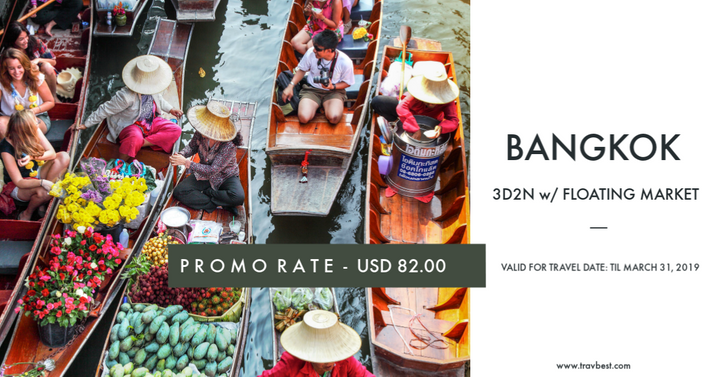 Bangkok Thailand with Floating Market Package Tour