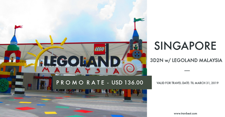 Singapore with Legoland Package Tour 2017