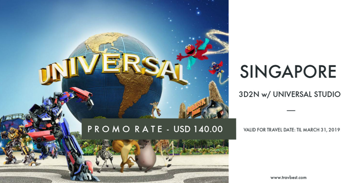 Singapore with Universal Studio Day Tour
