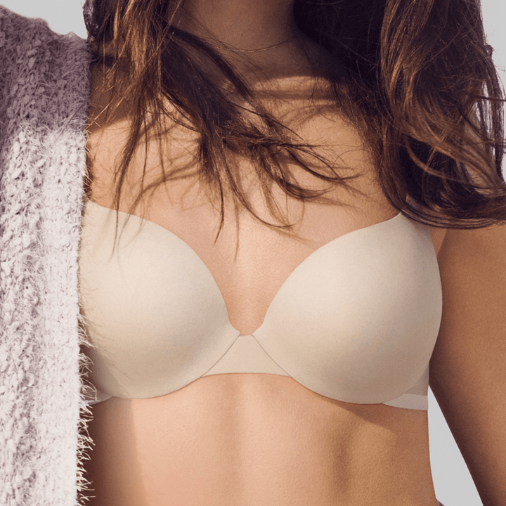 Light nude coloured t-shirt bra