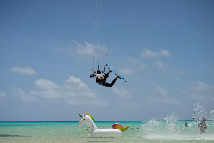 kite surf in French Polynesia