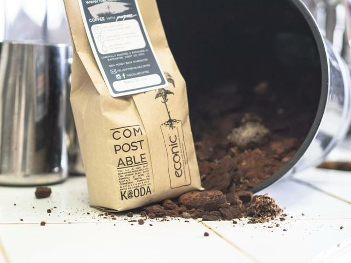 Coffee without Waste: The Co Lab coffee have reduced waste in all parts of their supply chain and roasting.
