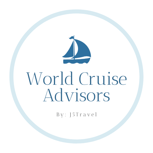 J5Travel also plans world cruises.