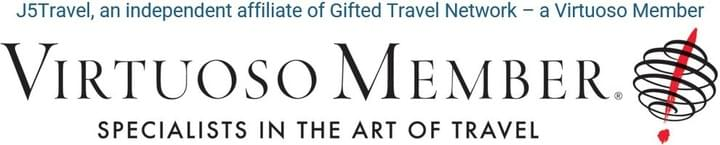 J5Travel tailors are an independent affiliate of Gifted Travel Network - a Virtuoso member