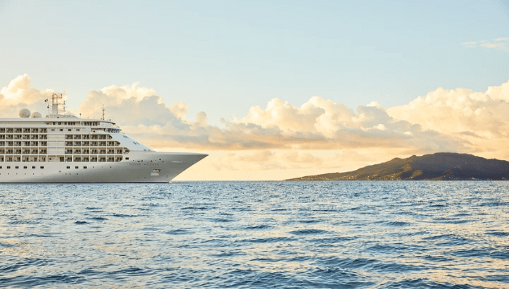 Silversea's Silver Whisper sets sail on a 137-day voyage early 2022.