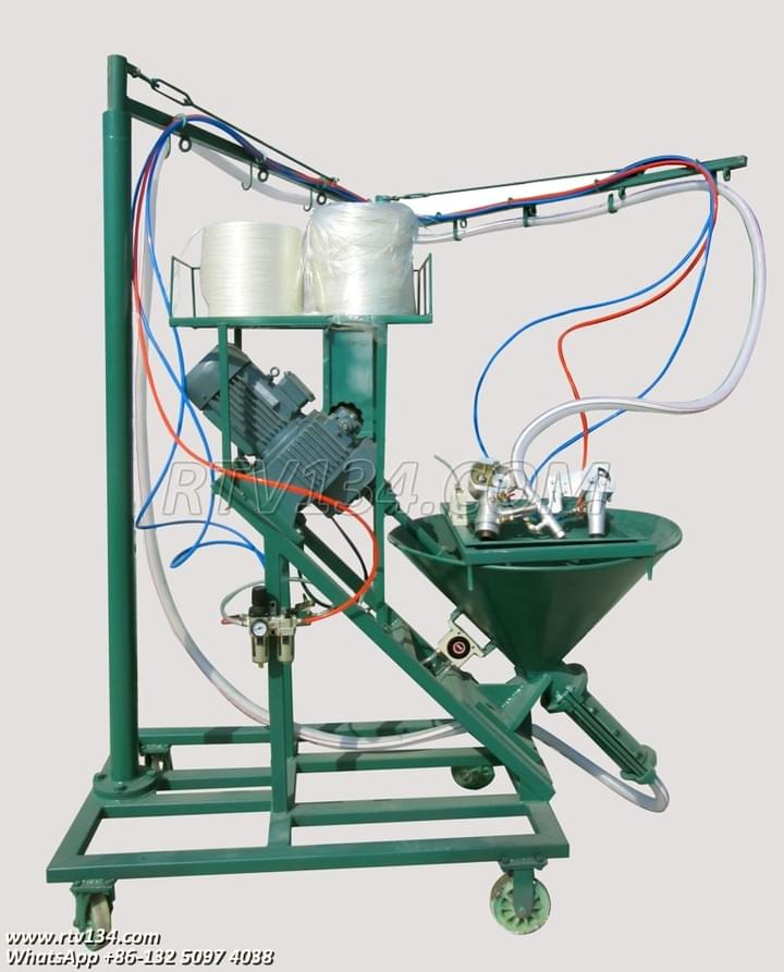 GRC spraying machine