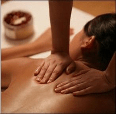 swedish massage relaxing pamper