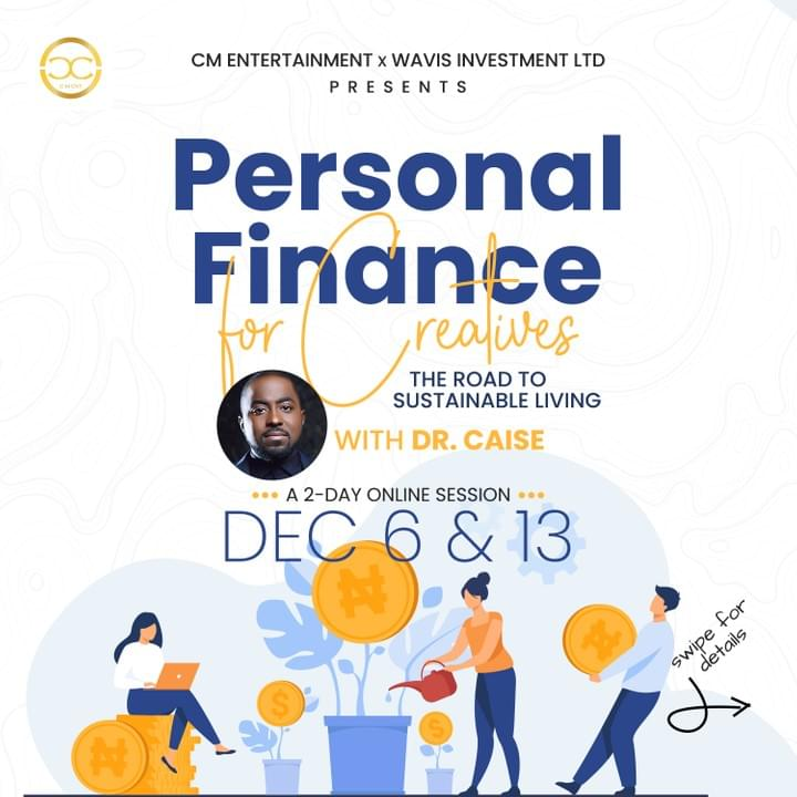 Personal Finance for Creatives Course by Dr Caise