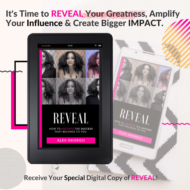 Get  Free Copy of REVEAL by Alex Okoroji (eBook & Audio Companion)