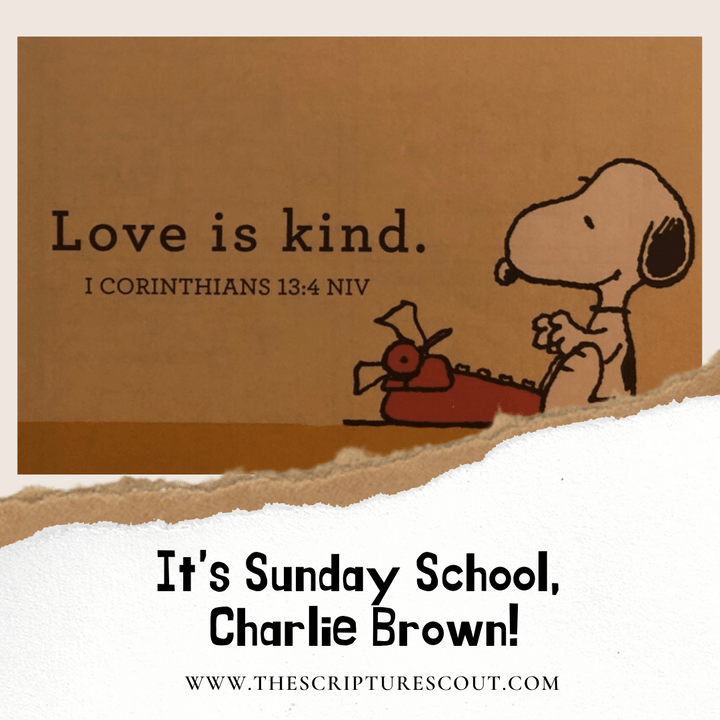 It's Sunday School, Charlie Brown!