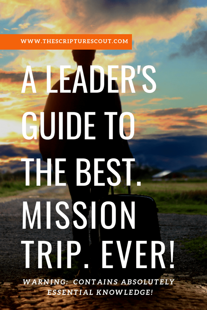 leader's guide, mission trip planning