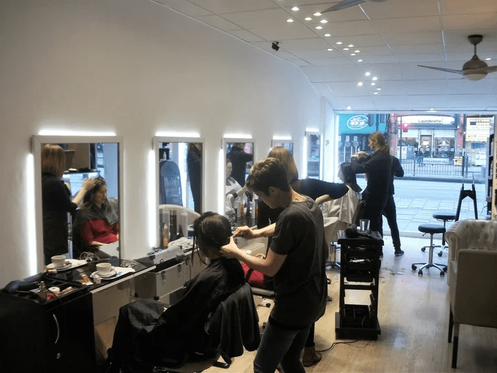 all about hair salon founder Richard