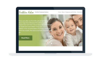 Fertility Treatment Centre website