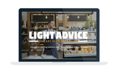 Light Advice website