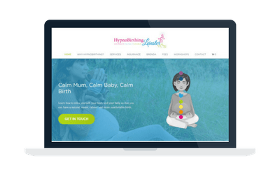 Hypnobirthing Leinster website