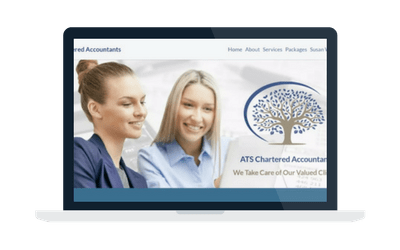 ATS Chartered Accountants website