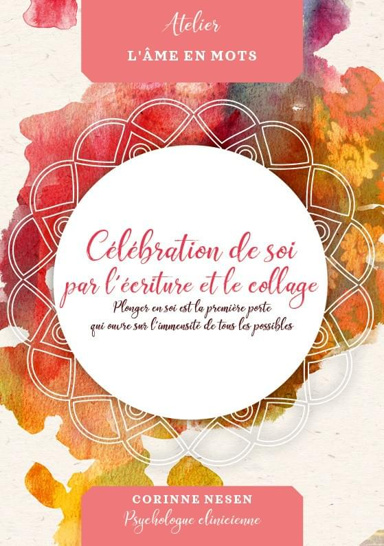 celebration de soi par l 'ecriture et le collage