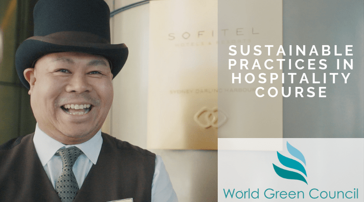 Sustainability training, hospitality, world green council