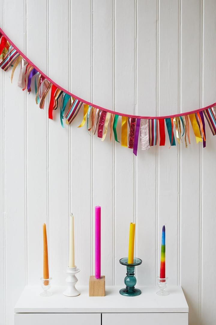 Tassel bunting by Rebel Bunting