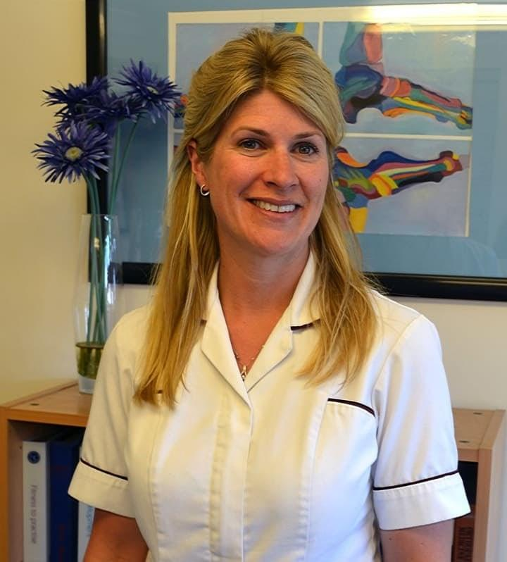 Sarah Kitchiner. Registered Osteopath