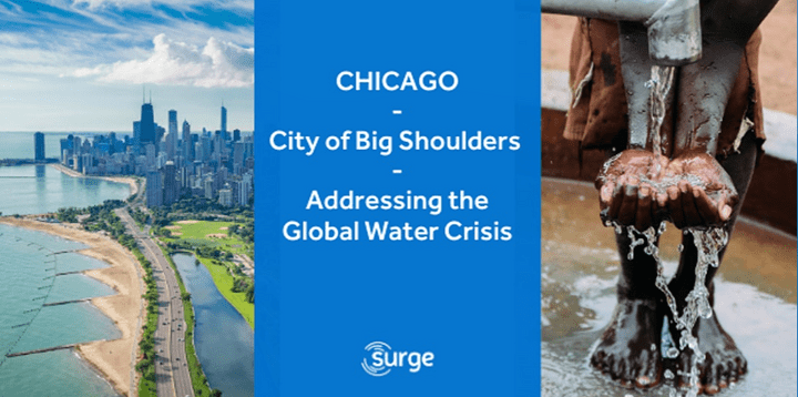 How the City of Big Shoulders is Addressing the Global Water Crisis event poster