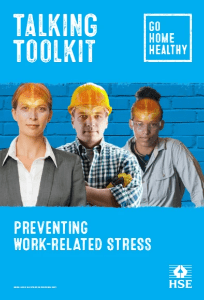 Talking Toolkit Preventing Work-Related Stress HSE