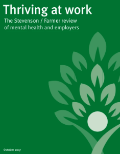 Thriving at Work Farmer/Stevenson Review