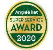 Angie's List Super Service Award for 10 years