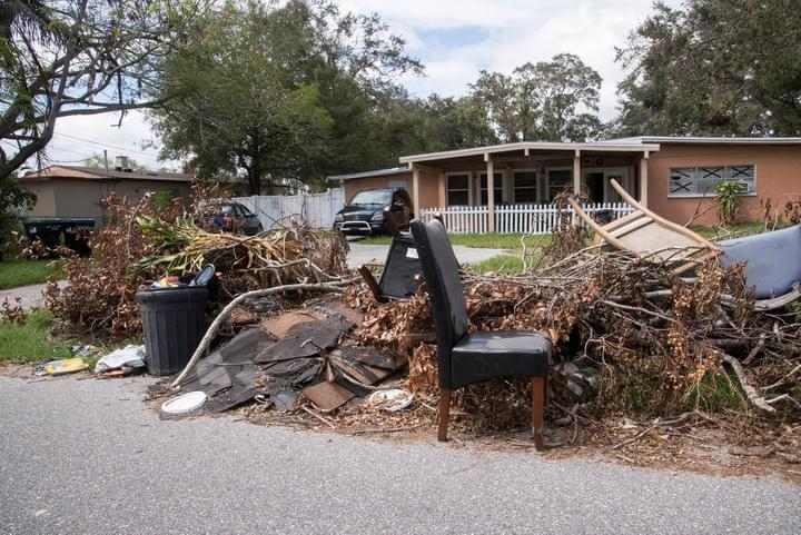 Yard Debris Removal and Recycling Junk Removal
