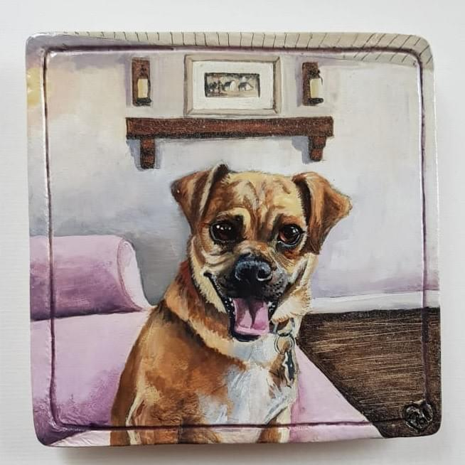 Pet Portraits - Mol's Tiles