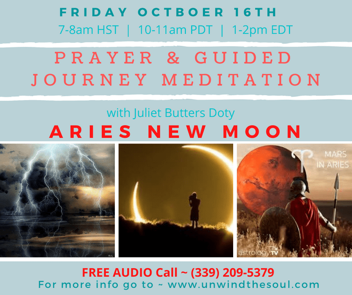 Guided Meditations New Moon FREE Audio Call