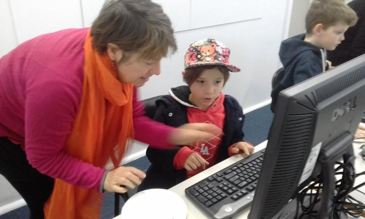 Parents and Kids Code Together
