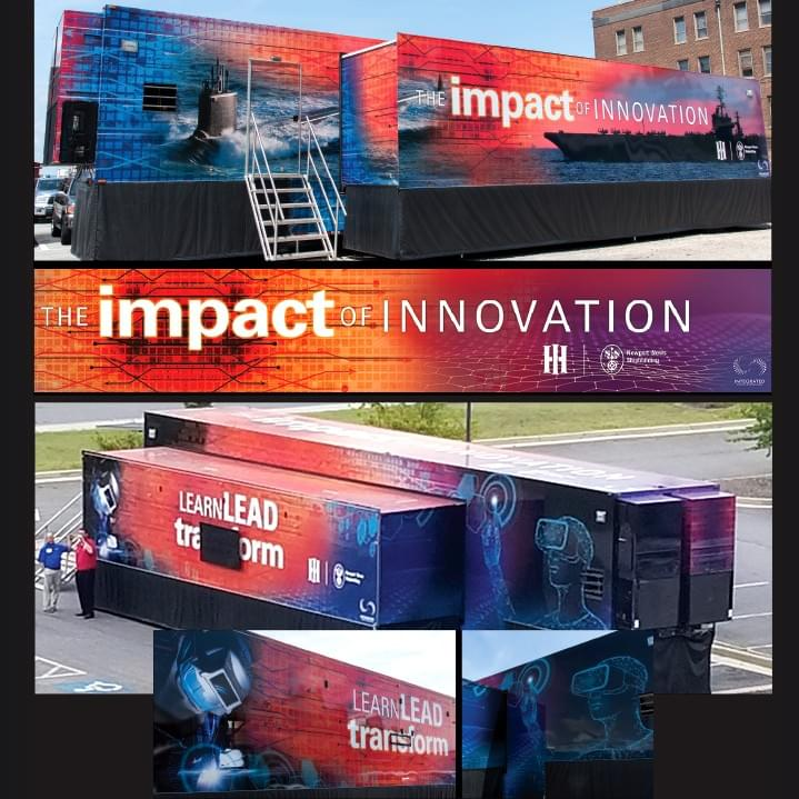 Impact of Innovation Trailer Wrap