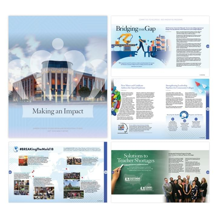 Making an Impact report