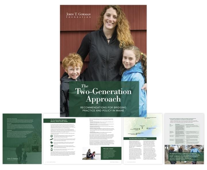 Two-Generation Approach report