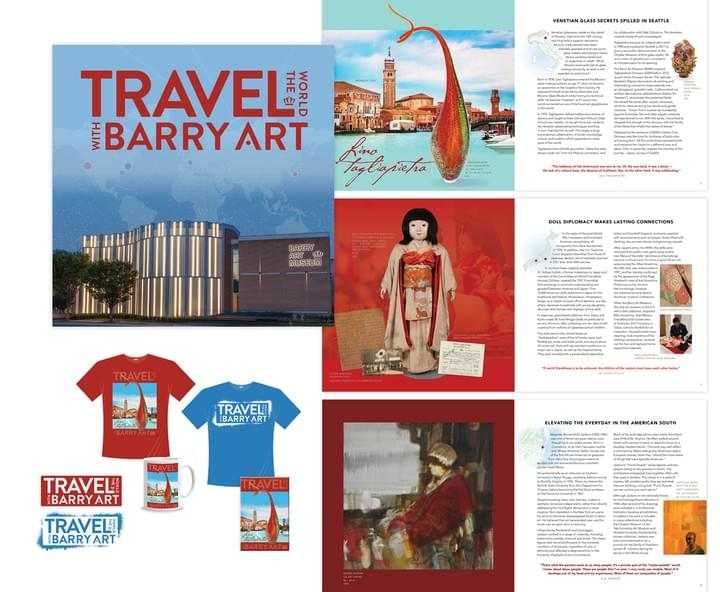 Travel the World with Barry Art at ODU materials