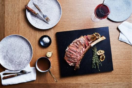 CHAR·GRILLED BLACK ANGUS TOMAHAWK