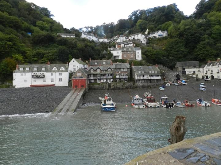 Clovelly - a timeless village with cobble stone streets