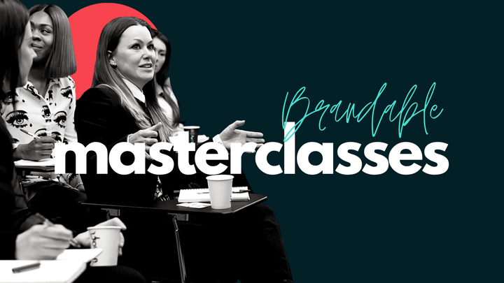 Leadership brands, career brands, brand strategy, personal branding, personal brand masterclass, Brandable & Co, Brandable Masterclasses