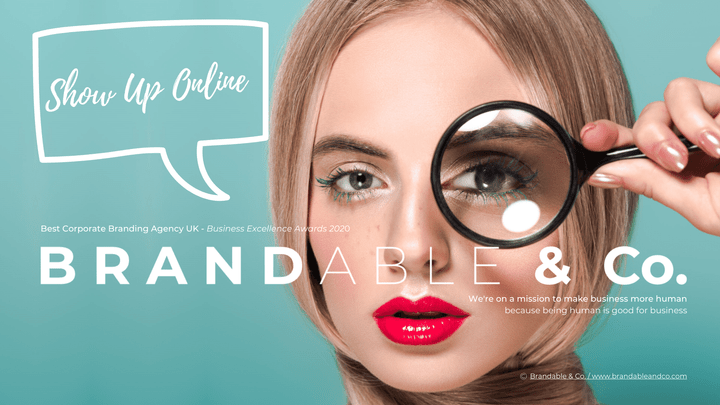 Brandable & Co, Show Up Online, Online visibility guide, Brandable and co, personal brand, personal branding
