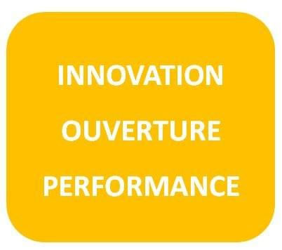 Innovation, ouverture, performance