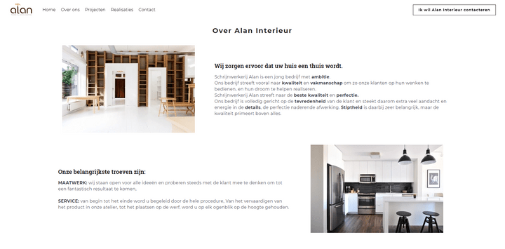 Alan Interieur, screenshot