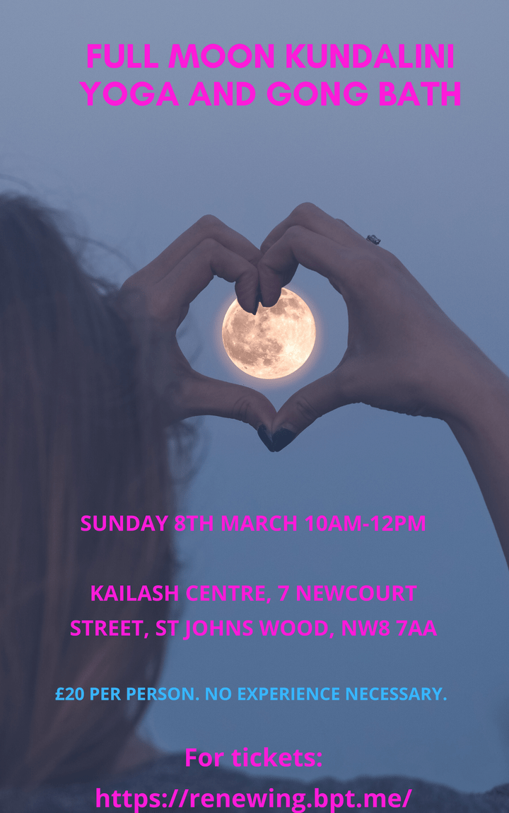 Full moon workshop