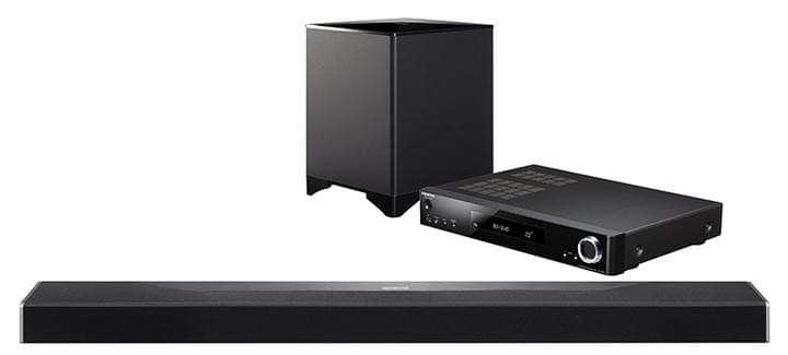 Dolby Atmos surround sound bar system